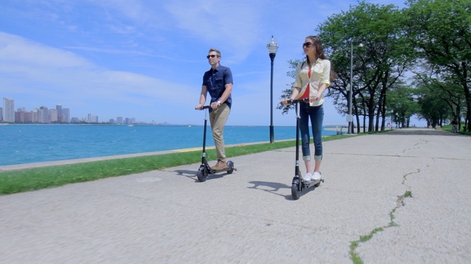 Glion, Dolly, foldable scooter, electric foldable scooter