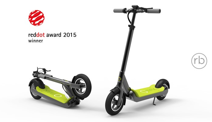 I-MAX, S1, foldable scooter, electric foldable scooter, reddot award