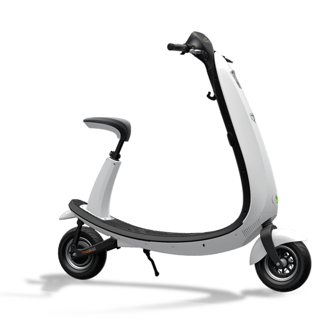 OJO, scooter, electric scooter, transparent