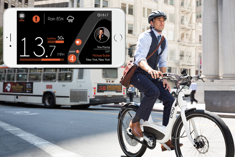 Elby, bike, electric bike, app