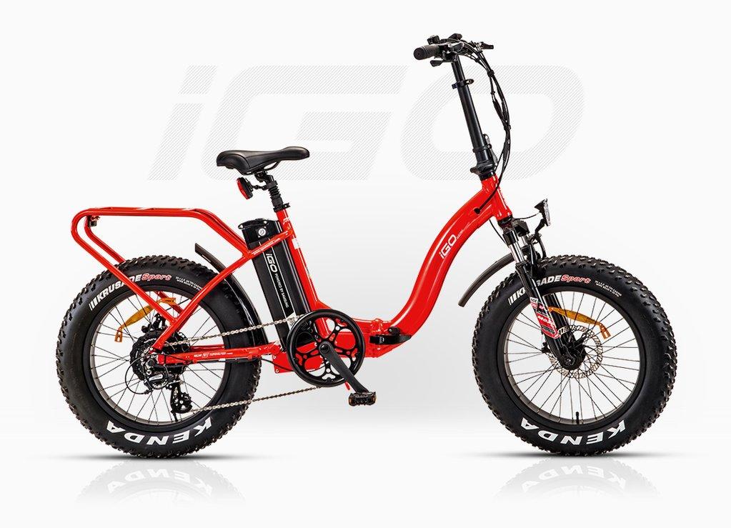 Electric Fat Bike >> Igo Fat Folding Electric Bike Have A Go